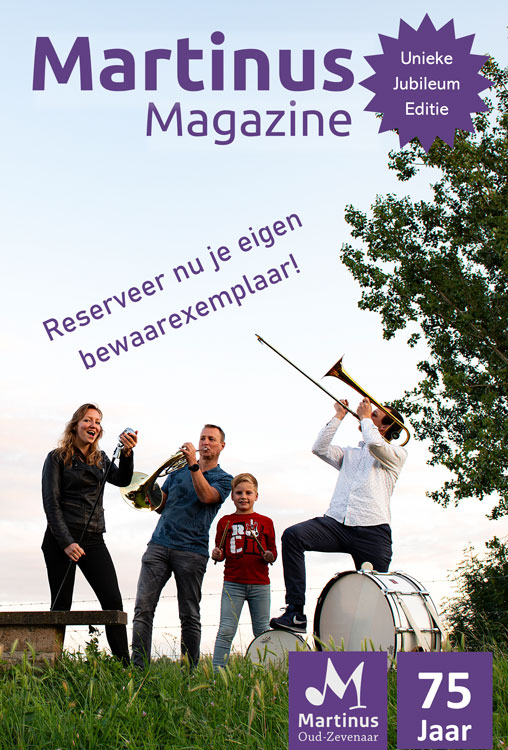 Magazine flyer